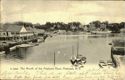 The Mouth Of The Pawtuxet River