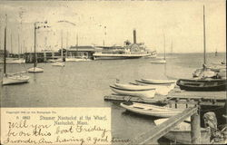 Steamer Nantucket at the Wharf