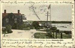 Annisquam Yacht Club House, from Cambridge Avenue