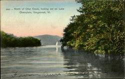 North Of Otter Cheek, Looking Ont On Lake Champlain