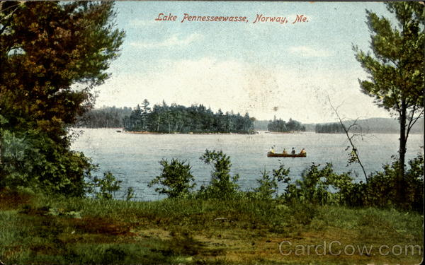 Lake pennesseewasse narway Maine