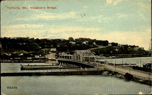 Vaughan s bridge portland maine