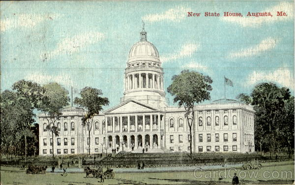 New State House Augusta Maine
