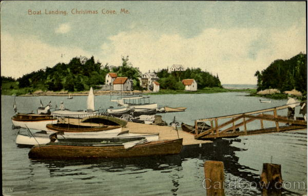 Boat Landing Christmas Cove Maine