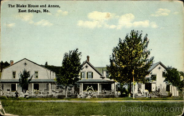 The Black House and Annex East Sebago Maine