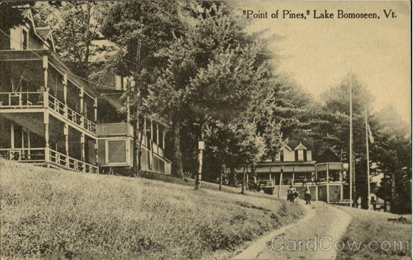 Point of Pines Lake Bomoseen Vermont