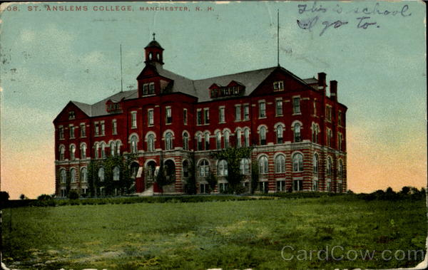 St. Anslems College Manchester New Hampshire