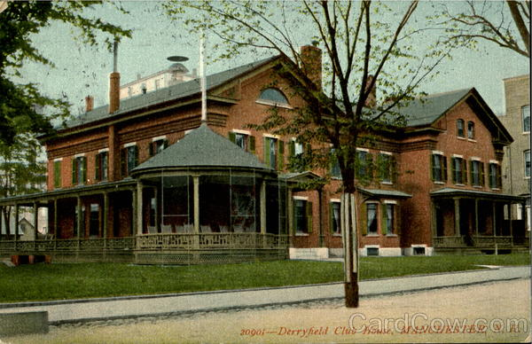 Derryfield Club House Manchester New Hampshire