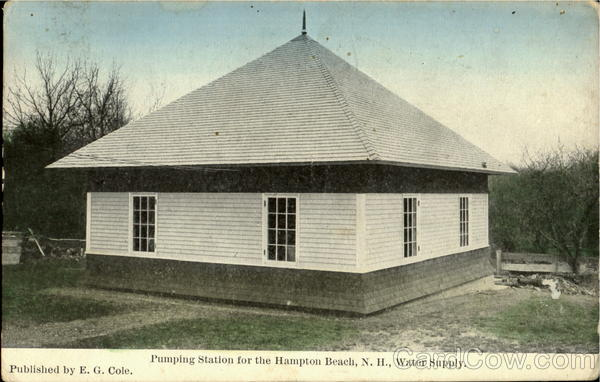 Pumping Station for the Hampton Beach, N.H., Water Supply New Hampshire
