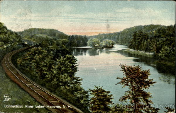 Connecticut River Below Hanover New Hampshire