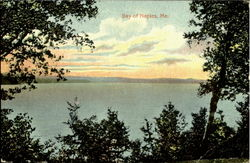 Bay of Naples Postcard
