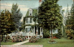 Residence of the Hon, Waldo Pettengill