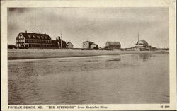 The Riverside from Kennebec River