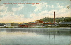 International Paper Mills and Androscoggin River