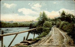 Road near Lorsey Pond Postcard