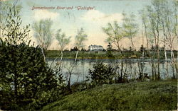 Damariscotta River and Gladisfen
