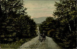 Along the Road to Hosmer's Pond Postcard