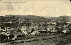 Wilmington Vt. from Jones Hill