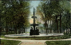 Park and Fountain