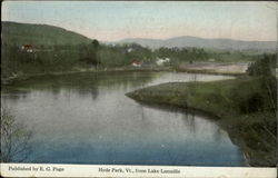 Hyde Park, Vt., from Lake Lamoille