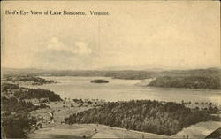 Bird's Eye View of Lake Bomoseen