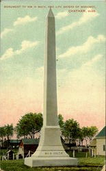 Monument To Wm. H. Mack, And Life Savers Of Monomoy Postcard