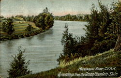 Missisquoi River, C.V.R.R.,Greetings From The Green Mountain State