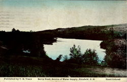 Berry Pond, Source Of Water Supply