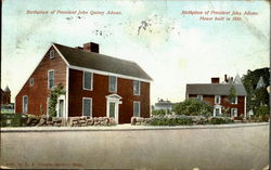 Birthplace Of President John Quincy Adams