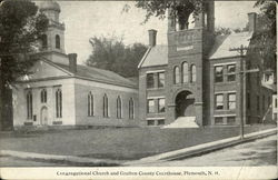 Congregational Church And Grafton County Courthouse