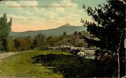 Chocorua Mountain From Gen Lovering Estate