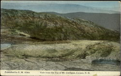 View From Thewto Of Mt. Cardigan Postcard