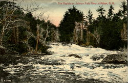 The Rapids On Salmon Falls River