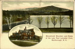 Monadnock Mountain and Estate of the Late Paul Leicester Ford