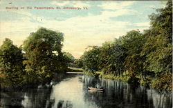 Boating On The Passumpsic