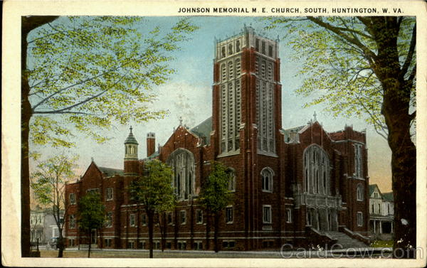 Johnson Memorial M.E. Church South Huntington West Virginia