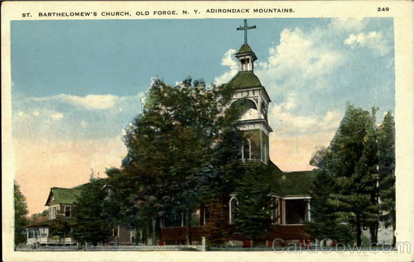 St. Barthelomew's Church, Old Forge Adirondack Mountains New York
