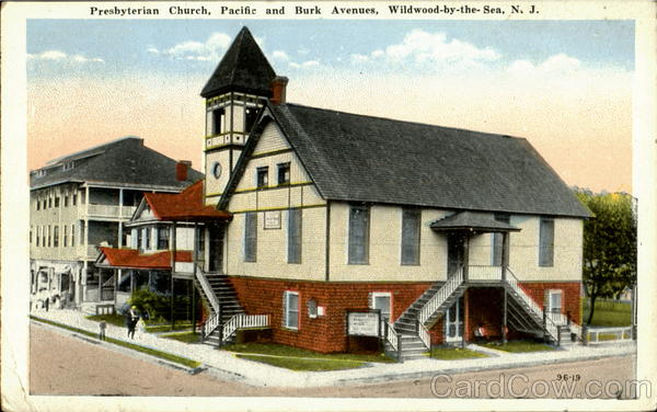 Presbyterian Church, Pacific And Burk Avenues Wildwood-By-The-Sea New Jersey