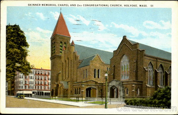 Skinner Memorial Chapel And 2nd Congregational Church Holyoke Massachusetts