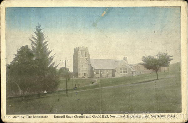 Russell Sage Chapel And Gouldhall, North Seminary Northfield Massachusetts