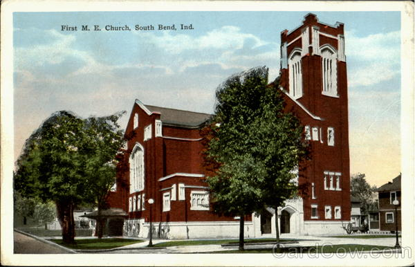 Christian Church North Main Street Rushville South Bend Indiana