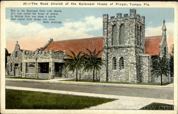 The Rock Church Of The Episcopal House Of Prayer Tampa Florida