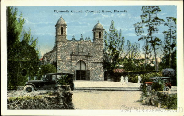 Plymouth Church Coconut Grove Florida