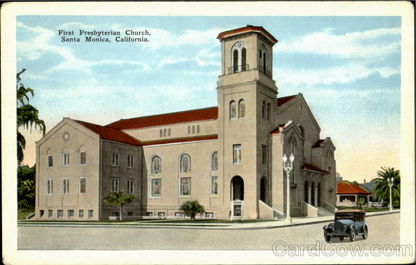 First Presbyterian Church Santa Monica California