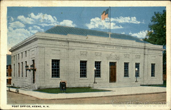 Post Office Keene New Hampshire