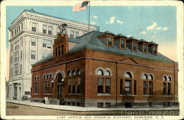 Post Office and Steneck Building Hoboken New Jersey