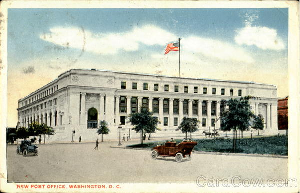 New Post Office Washington D.C District of Columbia