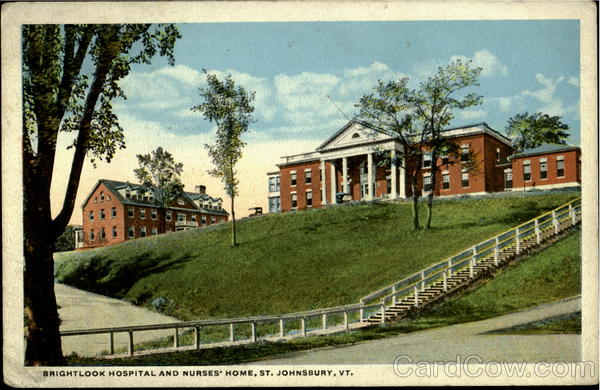 Brightlook Hospital and Nurses' Home St. Johnsbury Vermont