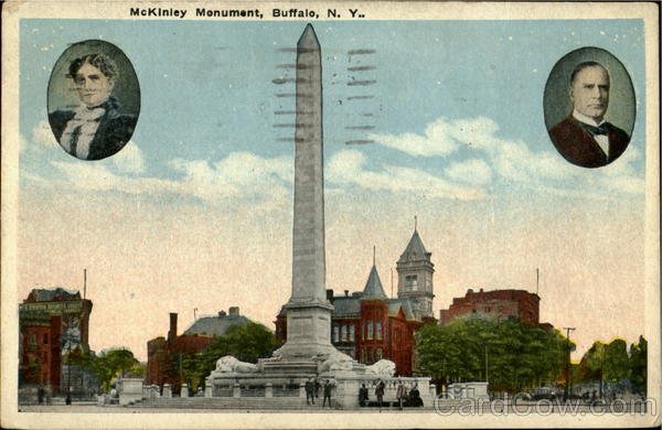 Mckiniey Monument Buffalo New York