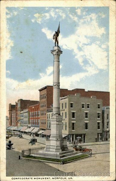 Confederate Monument Norfolk Va